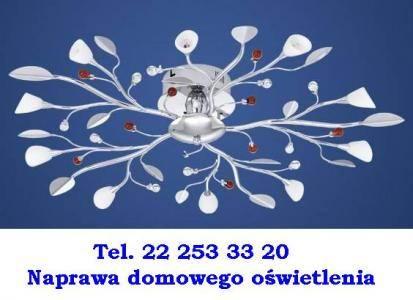 Naprawa światla - Elektryk-Bielany / Żoliborz tel.222 533 320